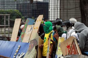 (38)VENEZUELA-CARACAS-SOCIEDAD-PROTESTA